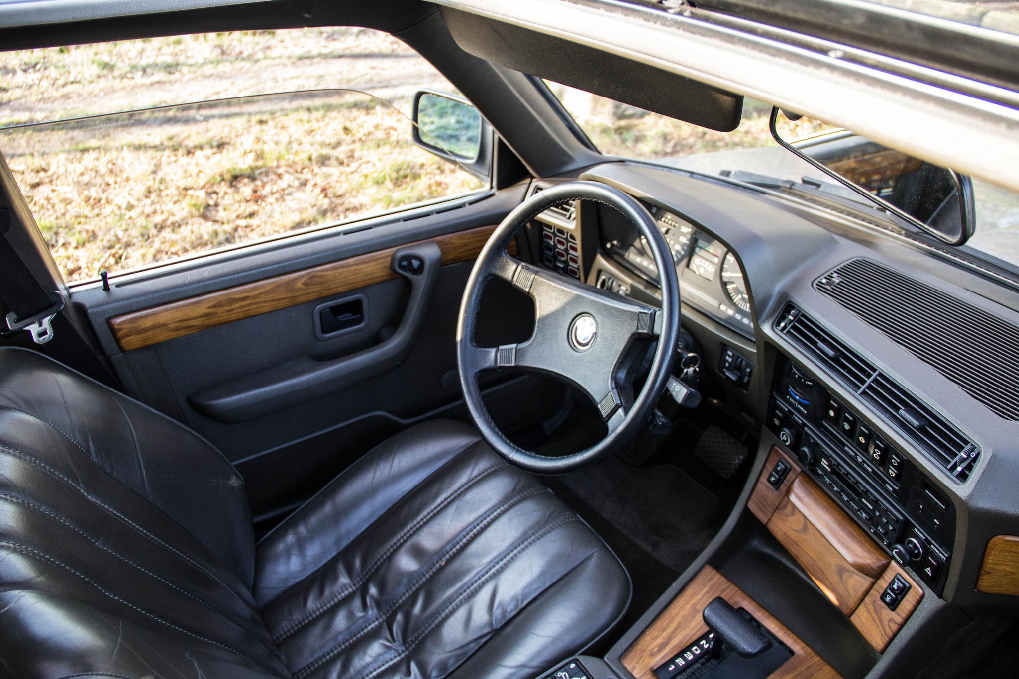 Road test 1985 BMW 735i E23