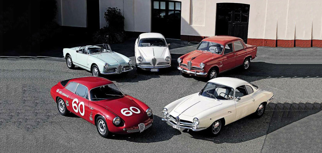 Alfa Romeo Giulietta. Richard Bremner tests Sprint, Spider and SZ
