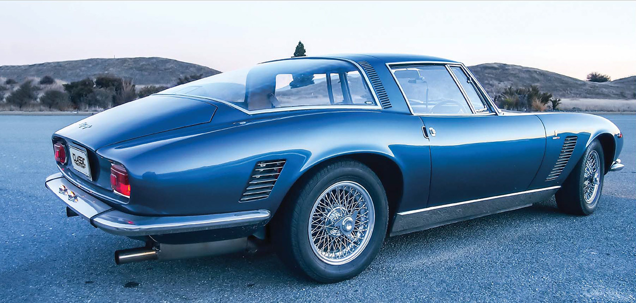 1966 ISO Grifo - road test