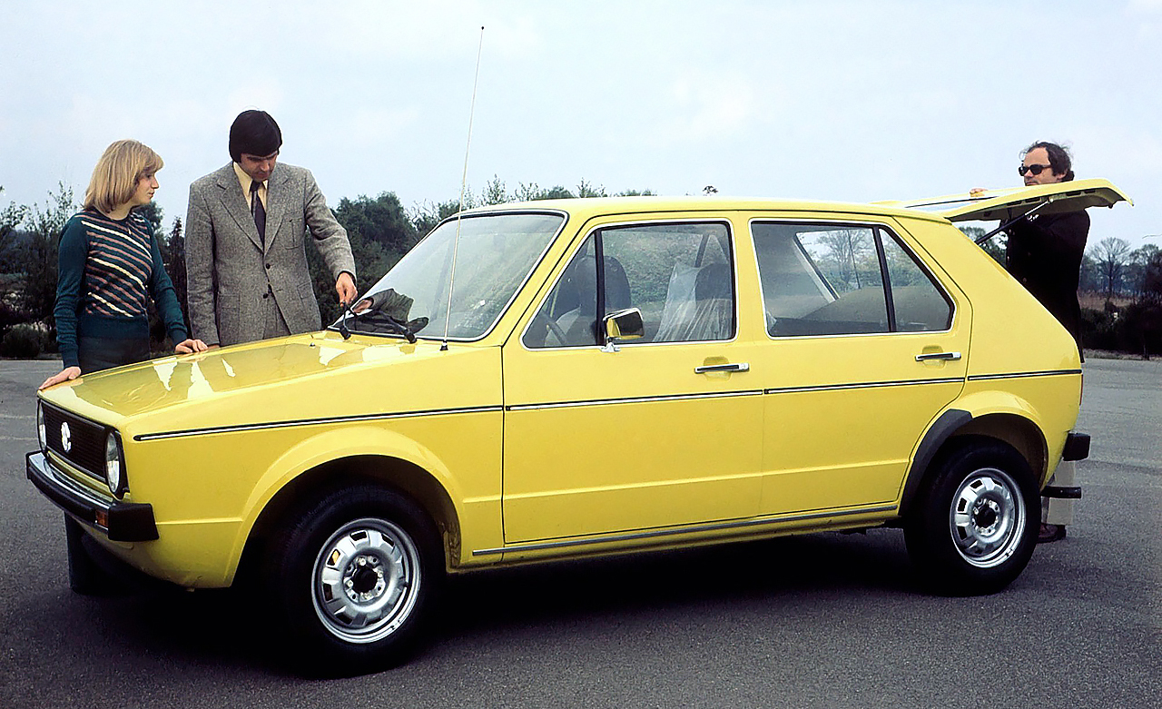Volkswagen Golf Mk1 5-doors version