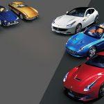 Ferrari's top GT road models