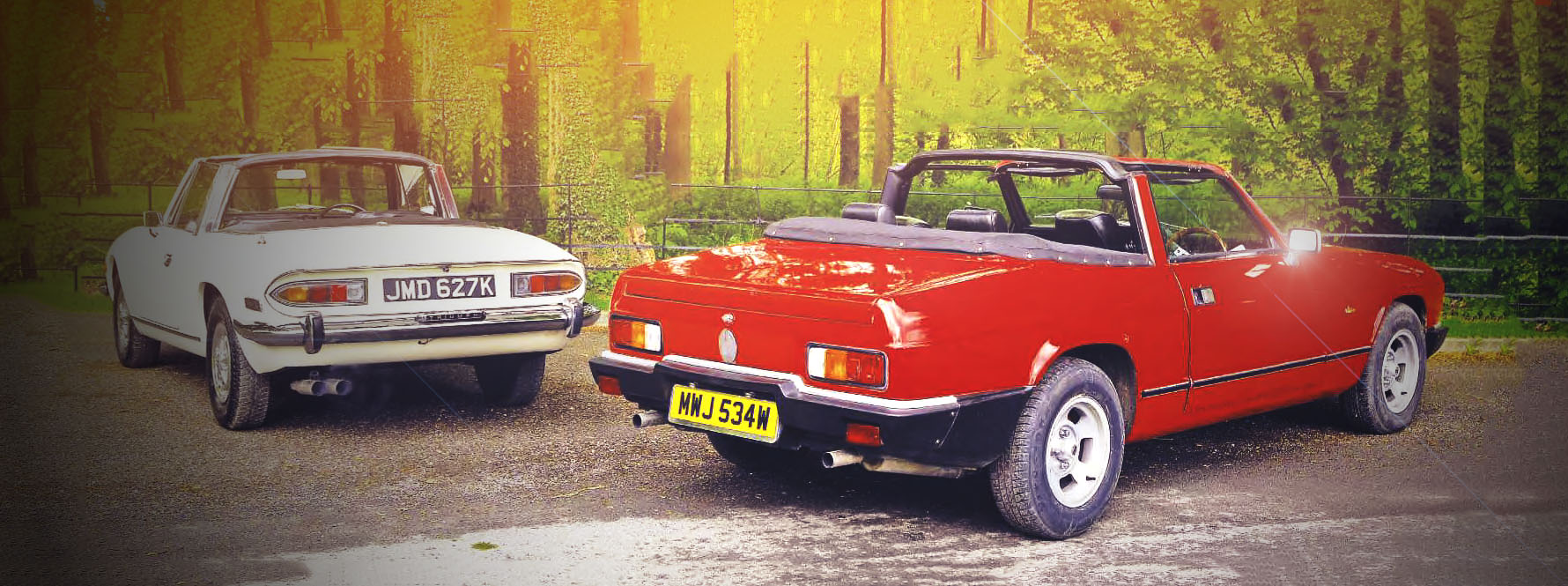 Reliant Scimitar GTC vs. Triumph Stag