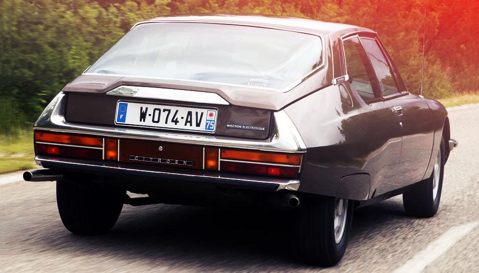 1971 Citroen SM road test