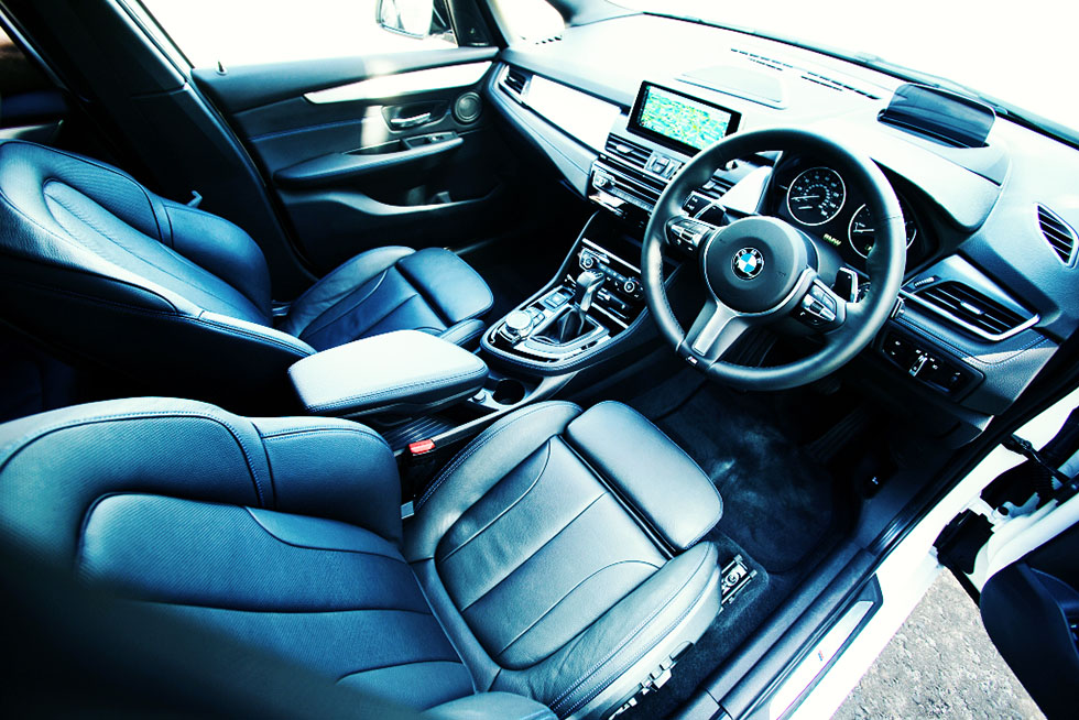BMW F46 2 Series Gran Tourer - interior UK-spec