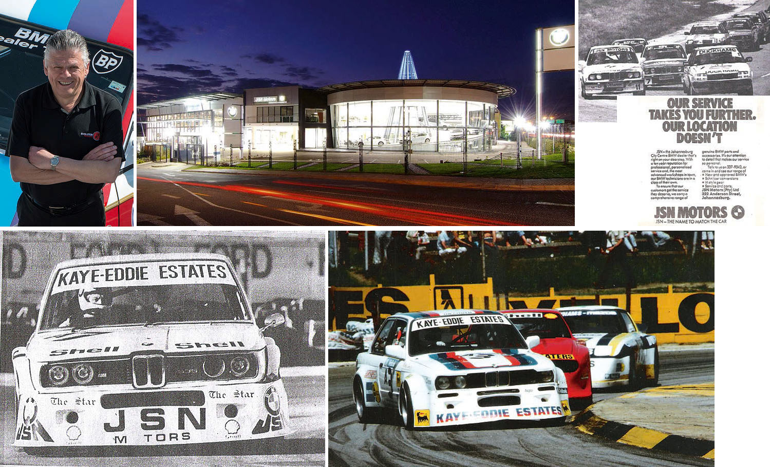 3½ Decades of BMW Motorsport in South Africa