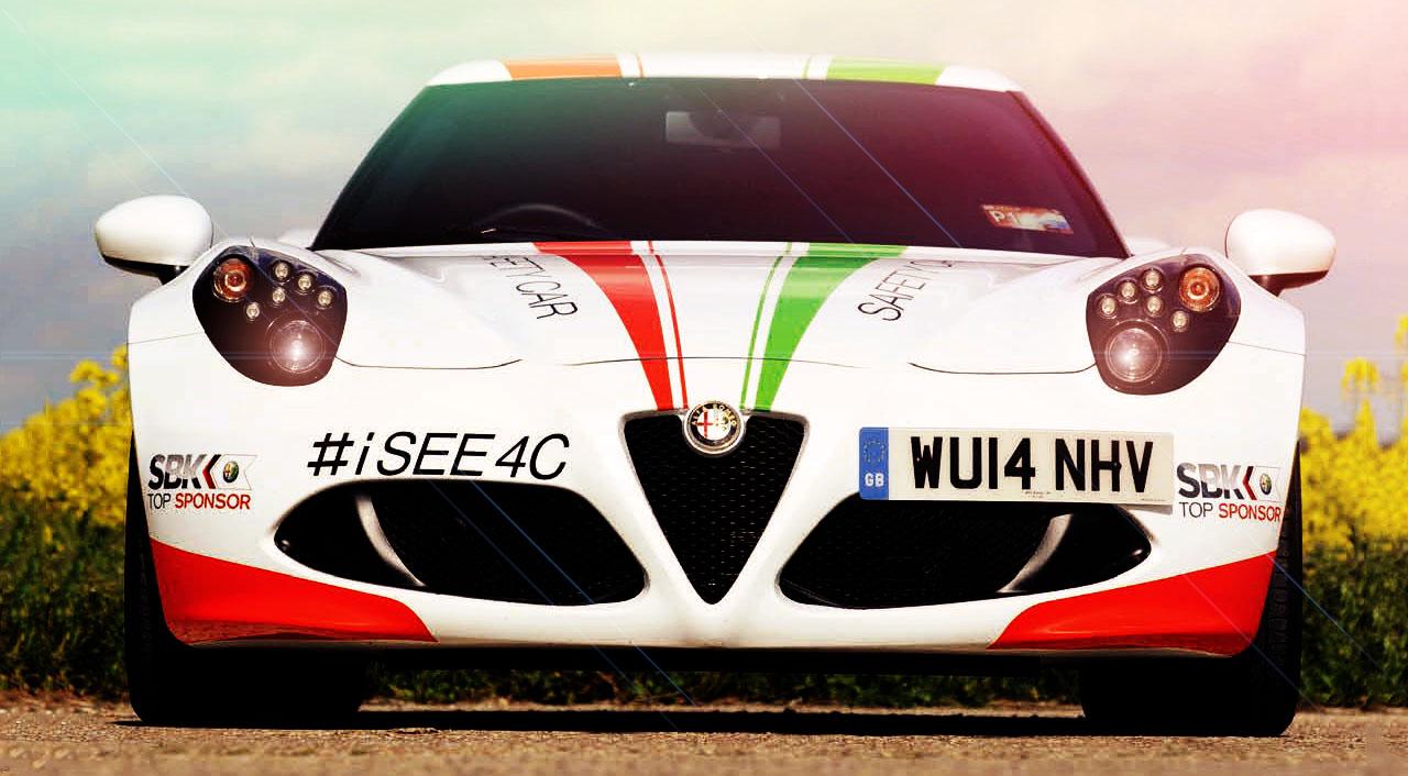 Alfa Romeo 4C Superbike World Championship safety car