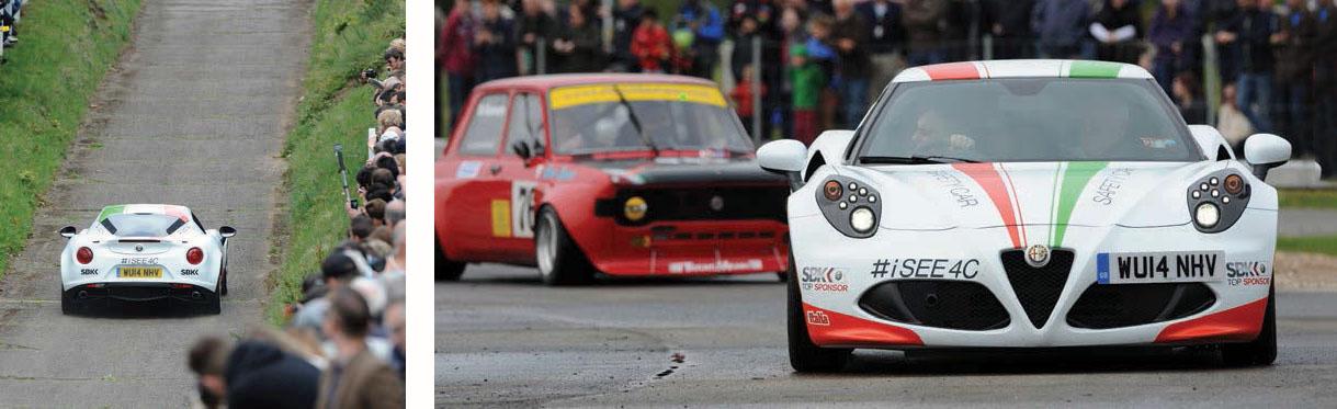 Alfa Romeo 4C Superbike World Championship safety car - tested
