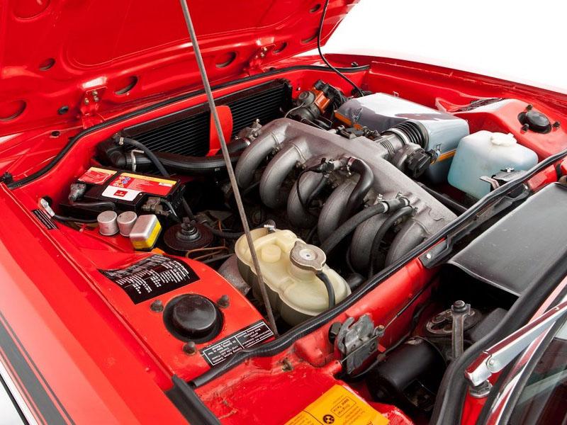 BMW 3.0 CSL E9 M30 engine