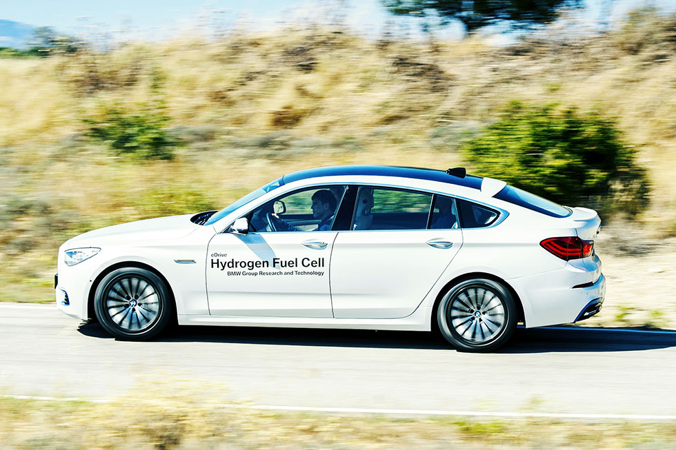 BMW 5 Series GT FCEV F07 Hydrogen fuel cell prototype