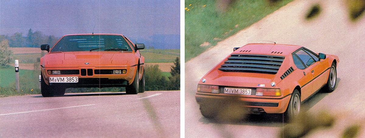 1980 BMW M1 E26 road test