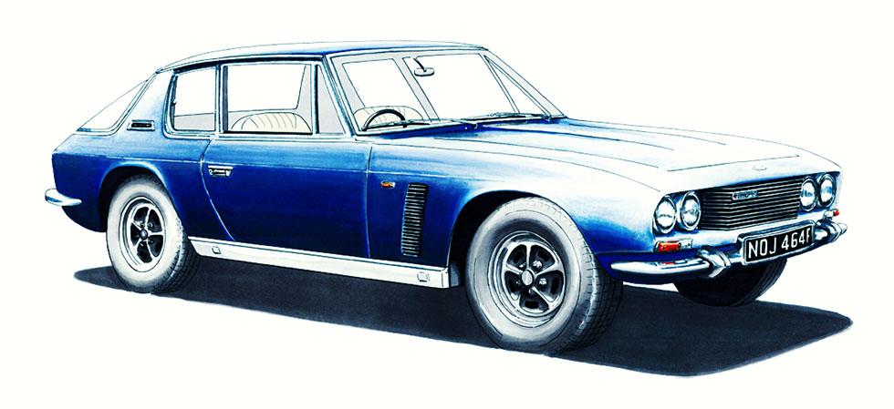 Jensen Motors history