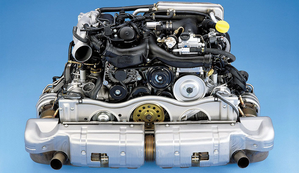 Porsche 911 996 turbo engine