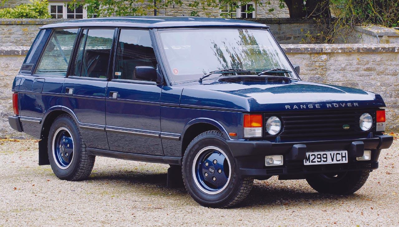 Range-Rover first series in Vogue spec