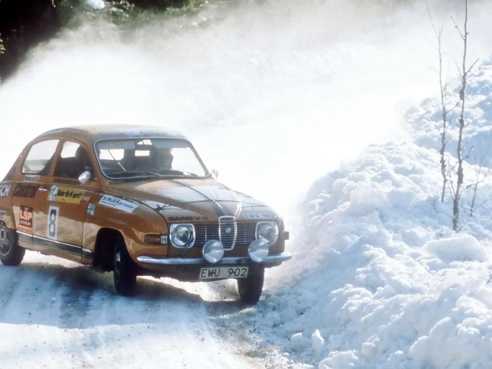 Saab race
