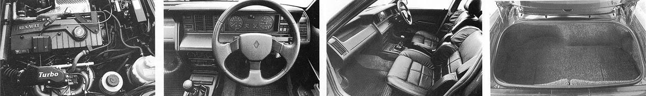 Renault 21 Turbo Quadra - road test 1990 original photo