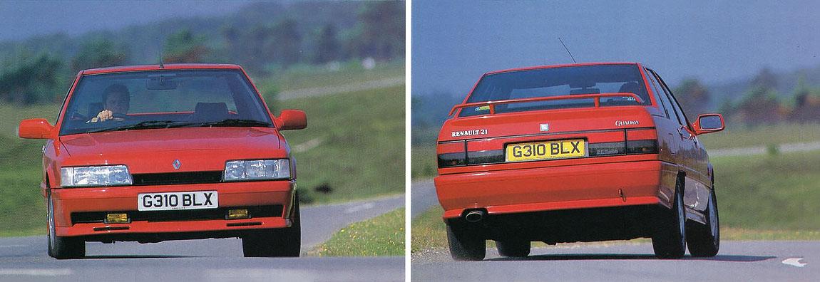 1990 Renault 21 Turbo Quadra driven
