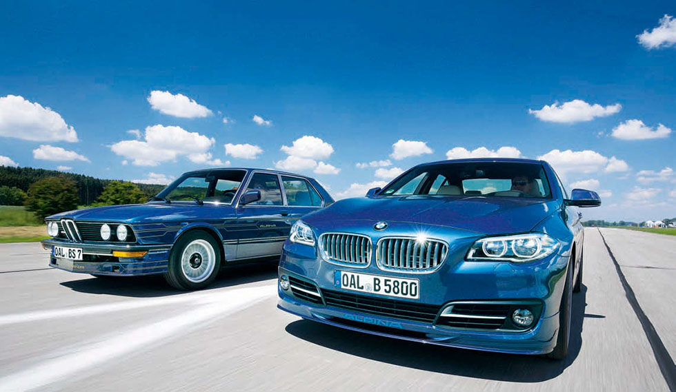 E12 B7 S Turbo Saloon vs. F10 B5 Bi-Turbo Edition 50 Saloon