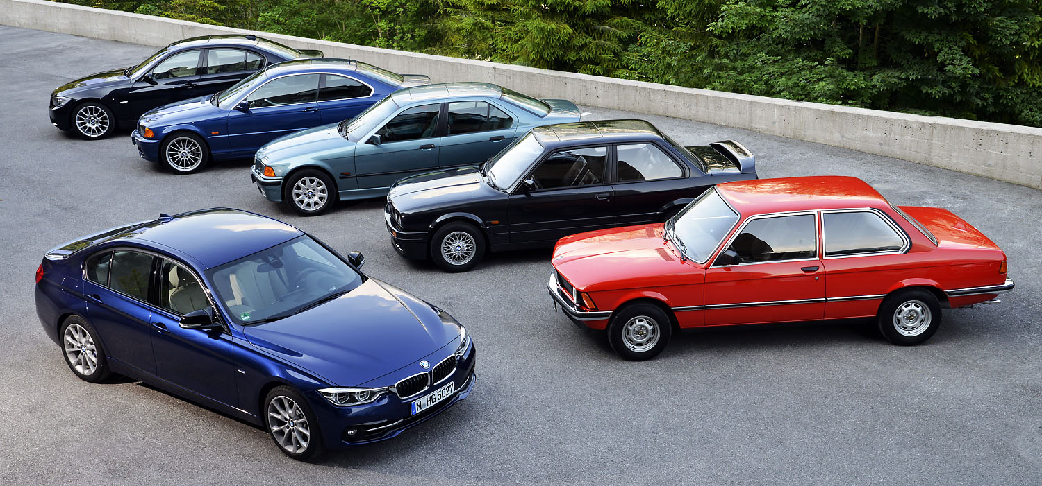 Driving all six generations of the iconic sports saloon