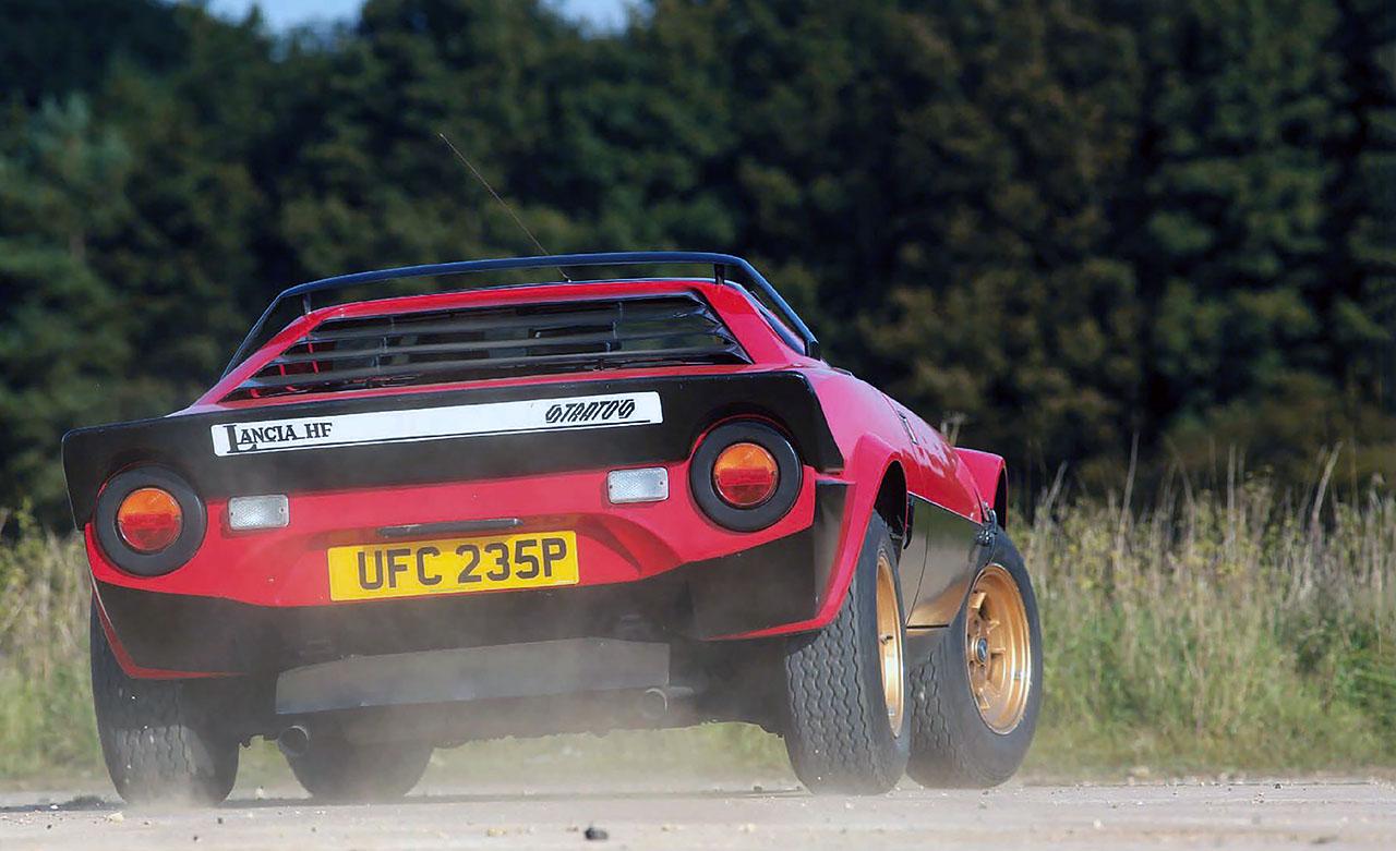Lancia Stratos road test