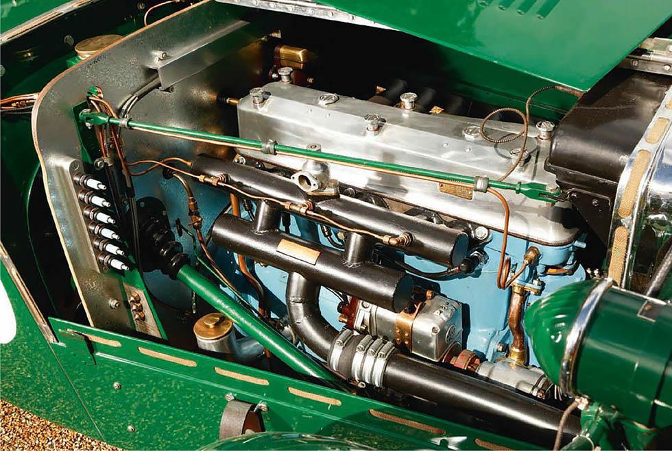 1933 MG K3 engine supercharged