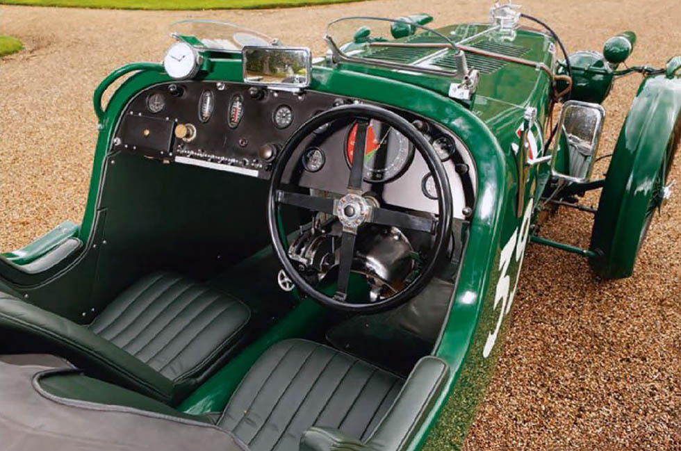 MG Supercharged  K3 - interior