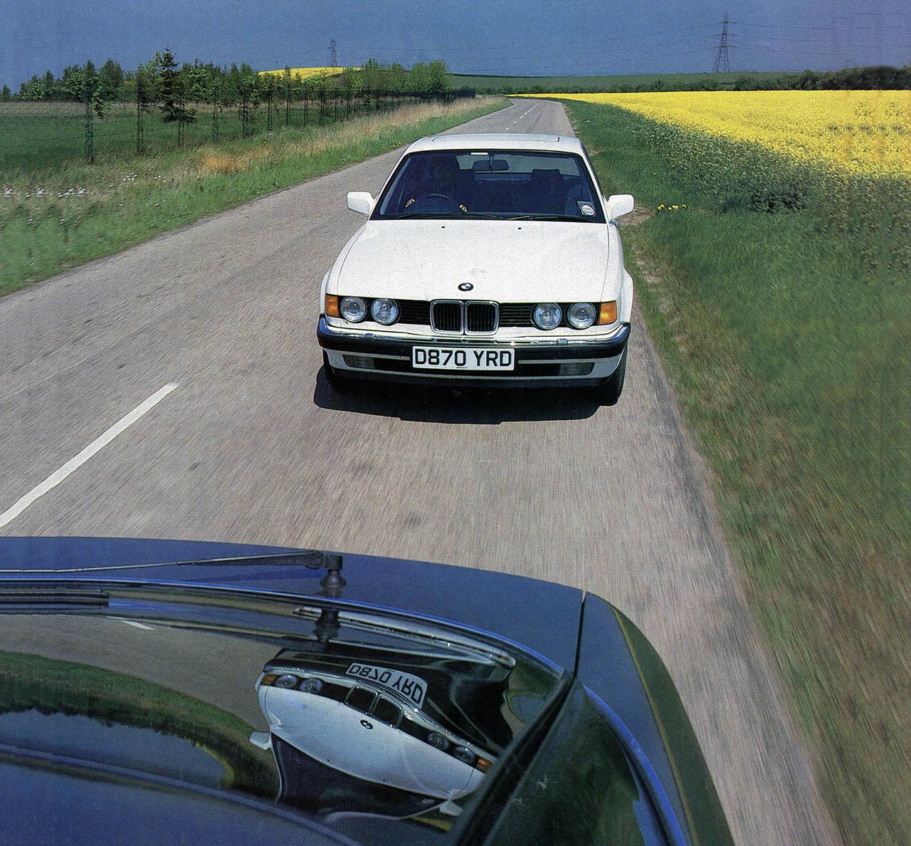 1987 BMW 730i E32 vs. Ford Granada 2.9 Scorpio Executive