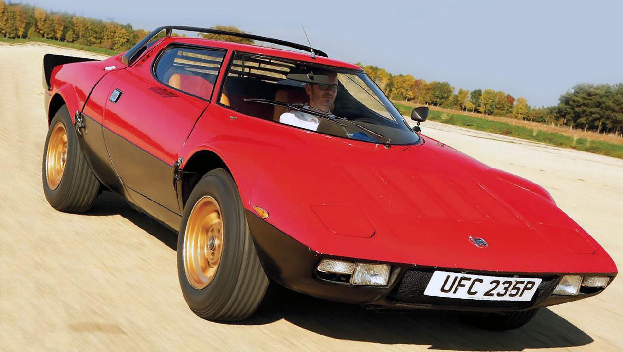 Lancia's Dino-engined rally legend - Stratos
