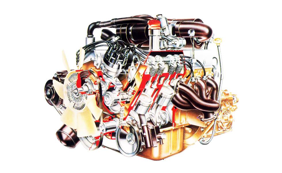Rover SD1 engine V8