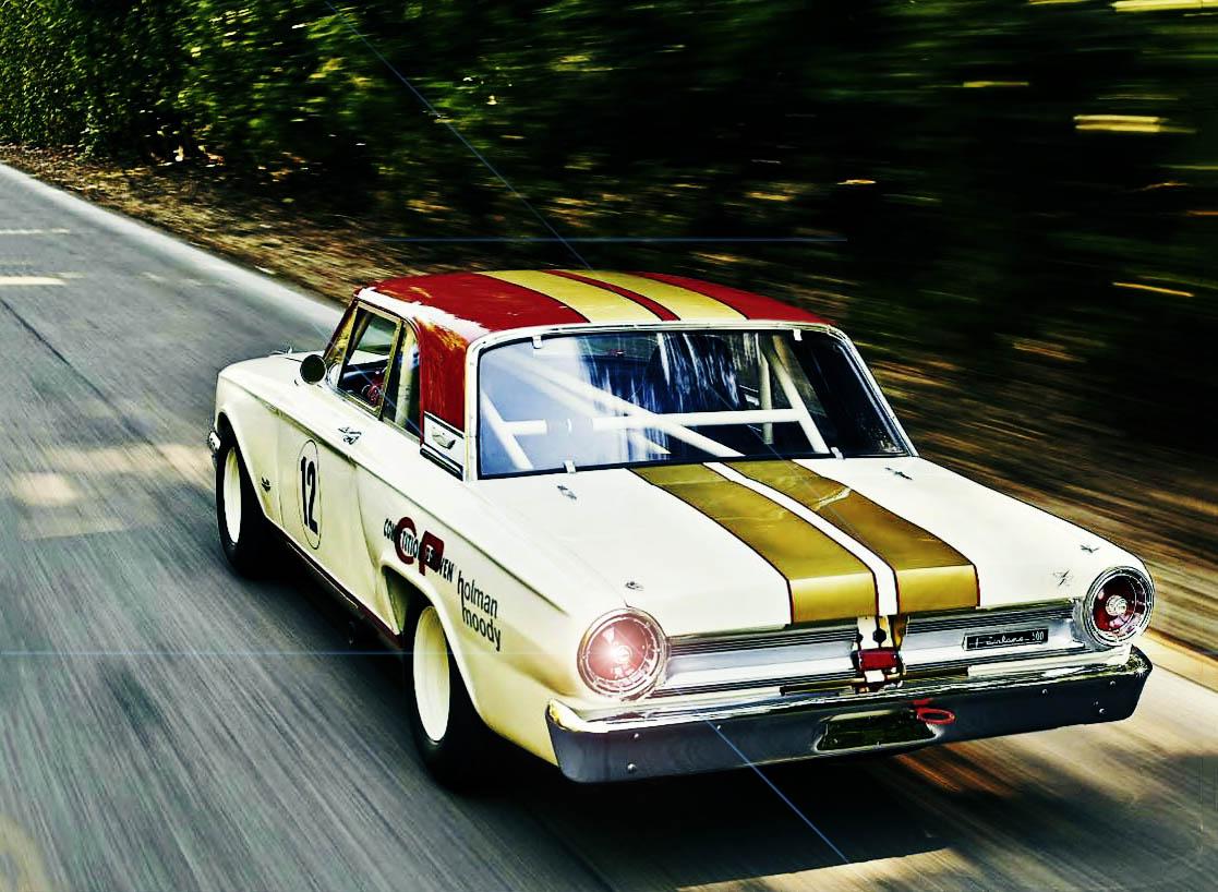 1964 Ford Fairlane Thunderbolt - driven