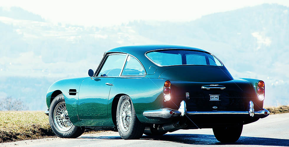 1964 Aston Martin DB5 – road test