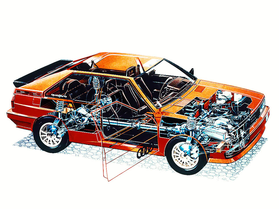 First of the breed Audi Ur quattro