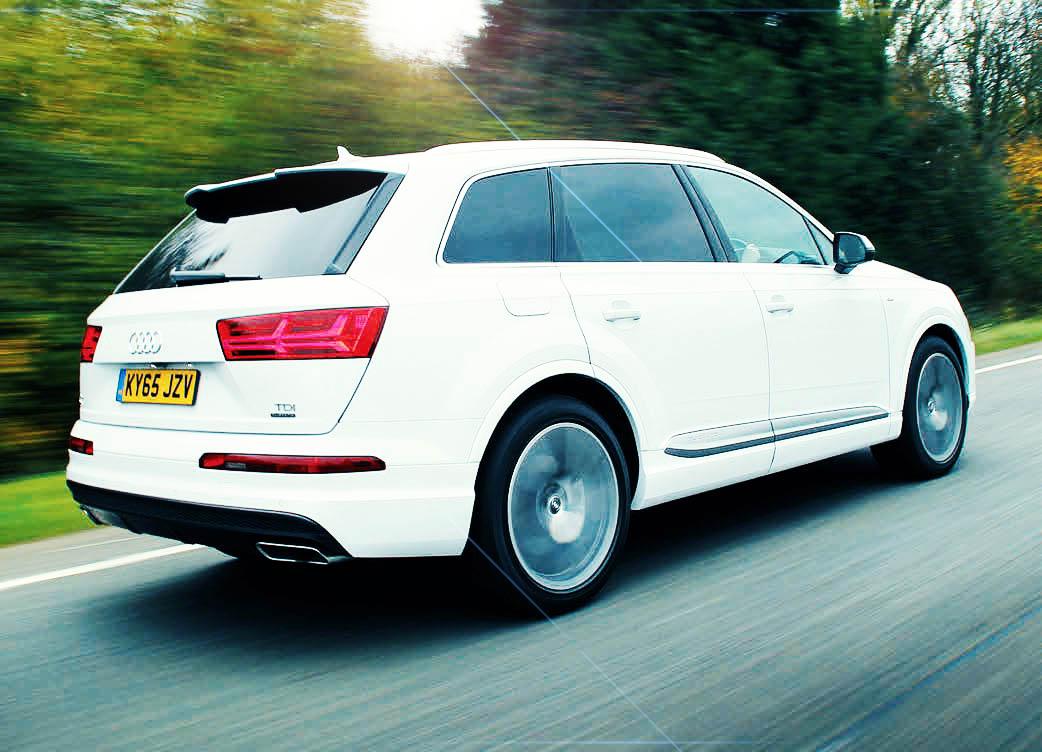 2016 Audi Q7 S line 3.0 TDI Quattro Typ-4M Giant Road Test