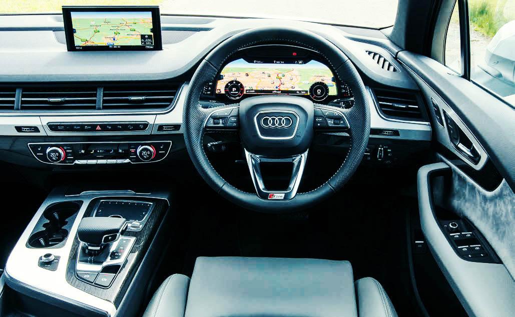 2016 Audi Q7 S line 3.0 TDI Quattro Typ-4M interior