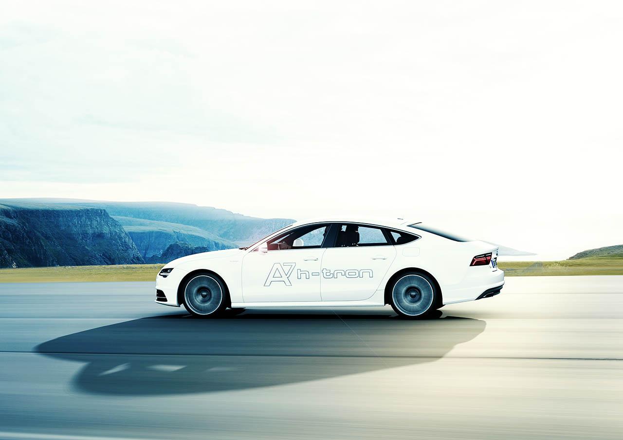 New 2016 Audi A7 Sportback H-Tron Quattro fuel cell hybrid