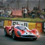 David Piper wasn't the only one to rate the gorgeous P3/4. Herbert Müller and Jean Guichet shared this one at the 1967 Le Mans 24 Hours