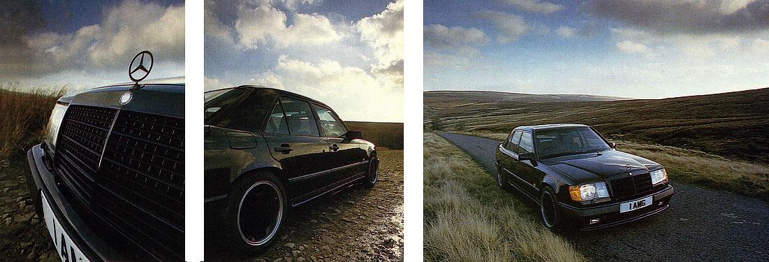 1987 Mercedes-Benz 560E AMG W124 driven