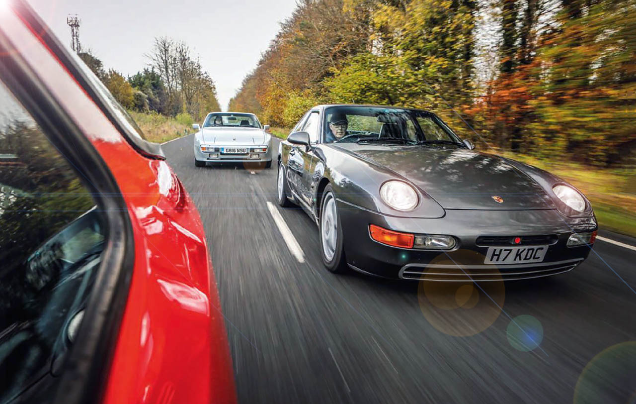 Road Test Porsche's unsung heroes 924 meets 944 and 968