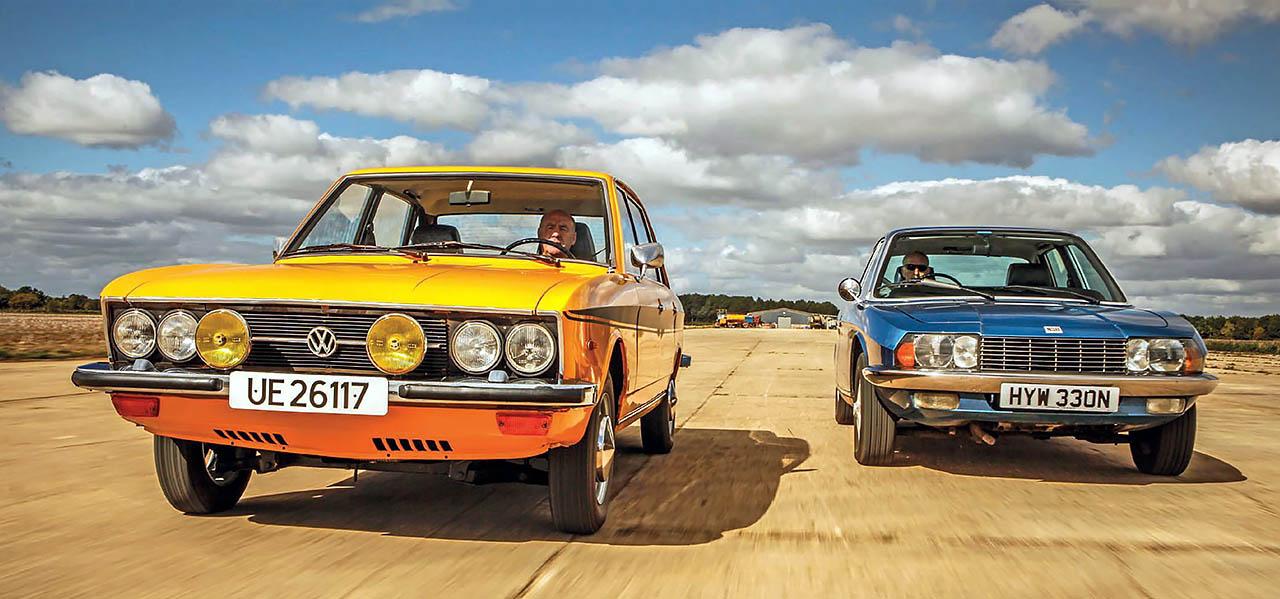 Volkswagen K70 vs. NSU Ro80