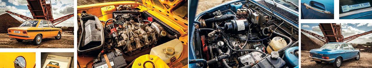 Test-drive  Volkswagen K70 vs. NSU Ro80 driven Volkswagen K70 vs. NSU Ro80