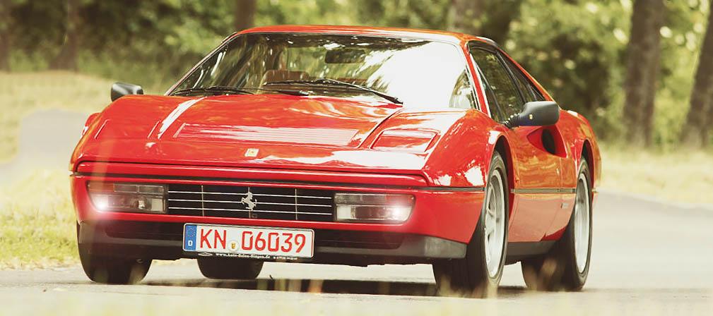 1986 Ferrari 328 GTB road test
