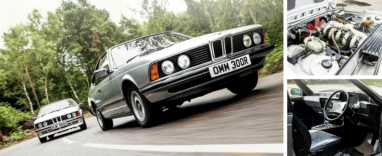 BMW E24 633CSi road test