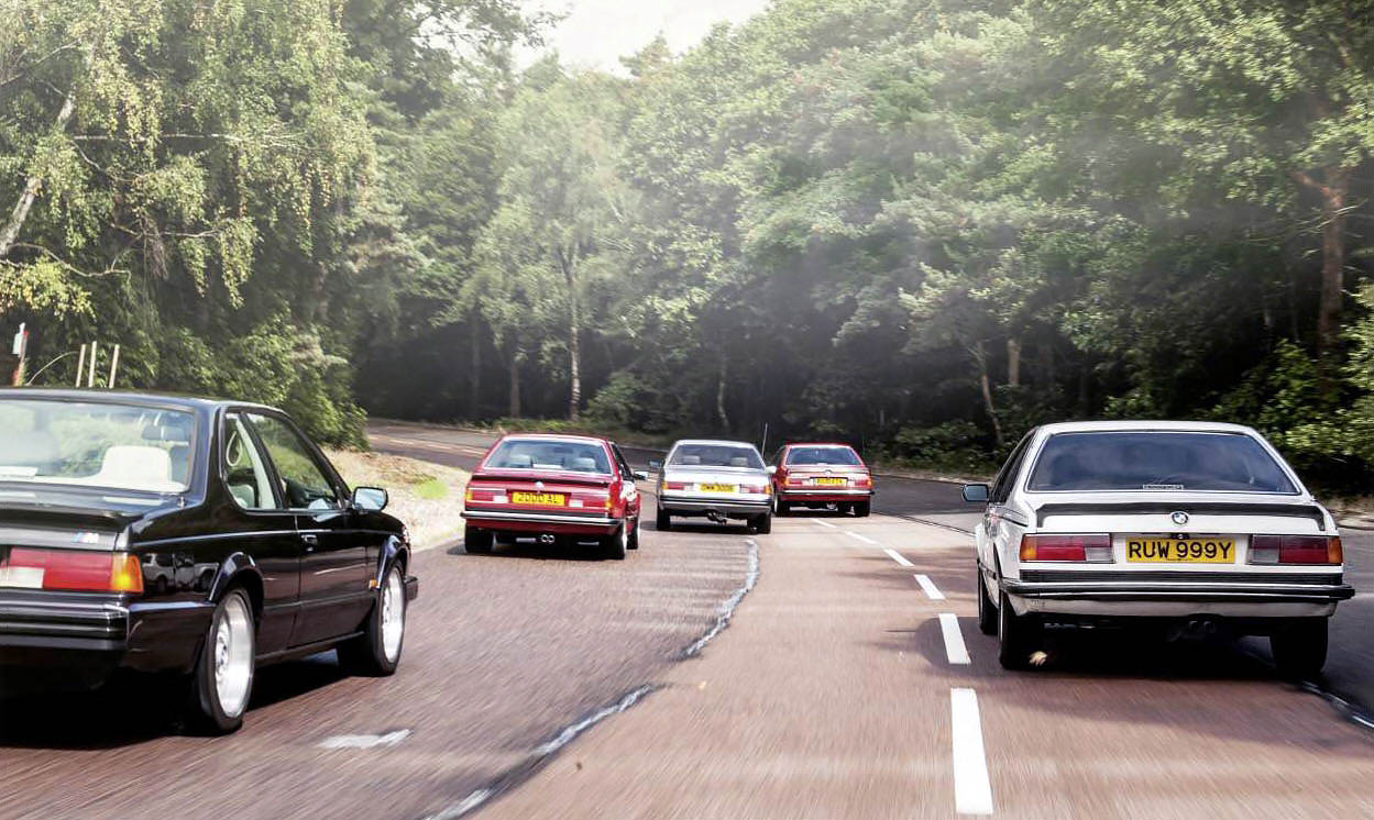 BMW E24 Giant Test from 628CSi, 633CSi, 635CSi, to M635CSi and Alpina B9 3.5