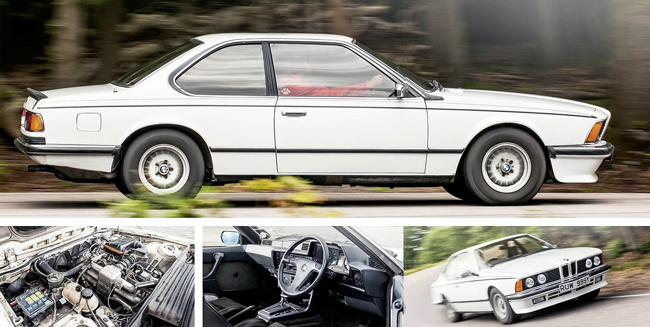 BMW E24 Giant Test 628CSi Automatic