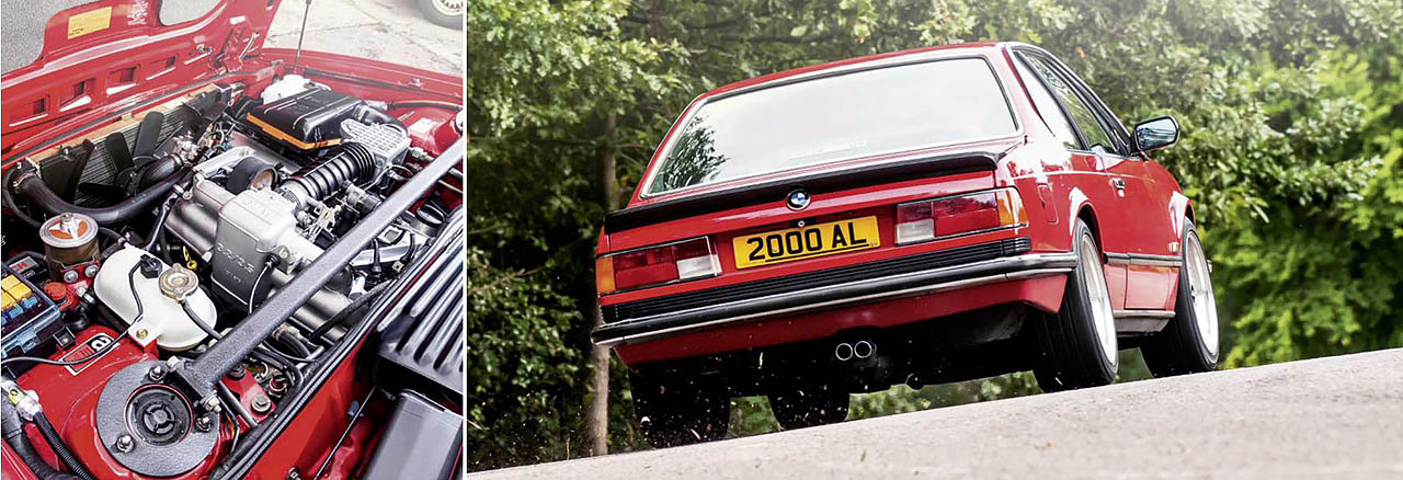 BMW E24 Giant Test 635CSi