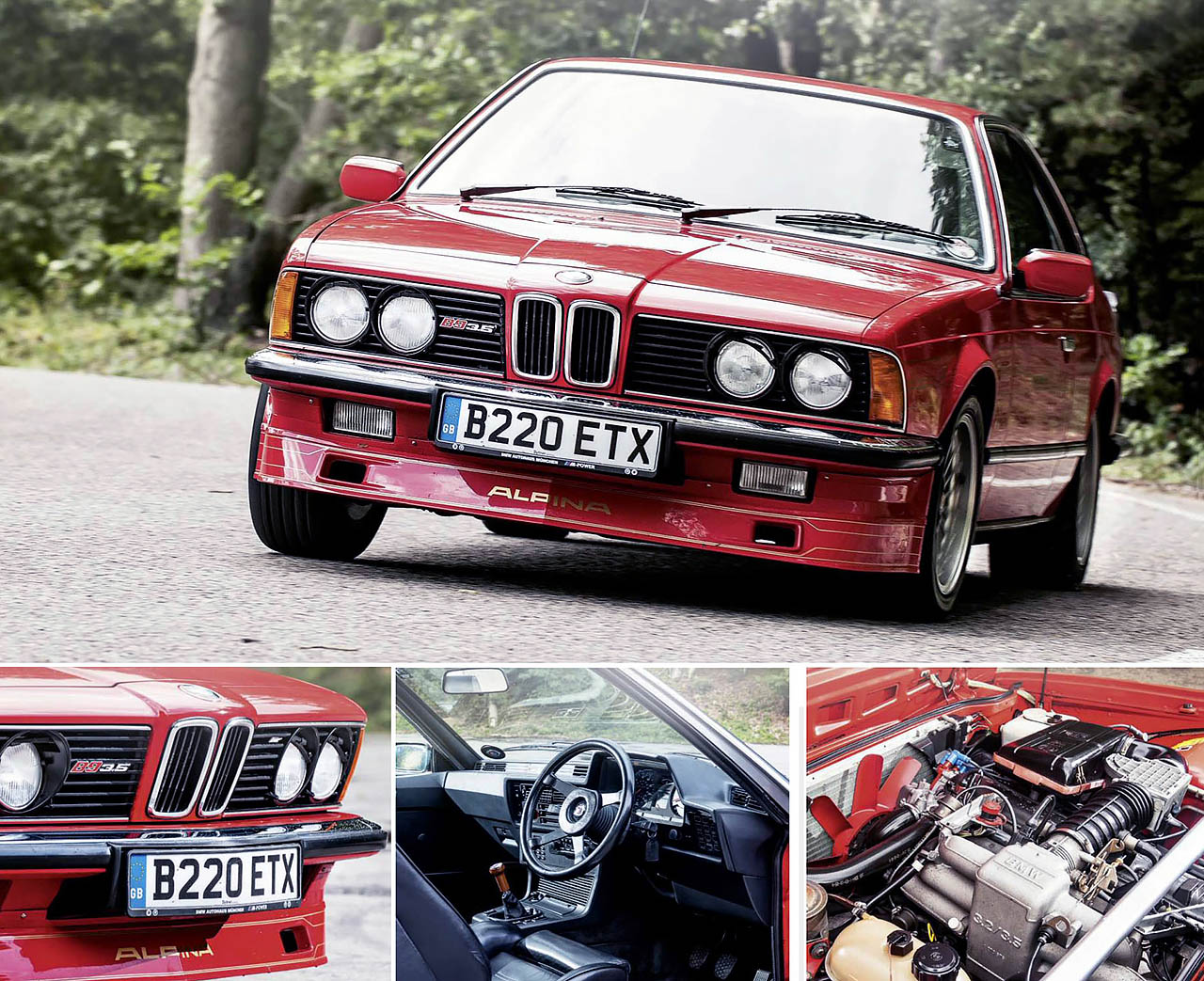 BMW E24 Giant Test Alpina B9 3.5