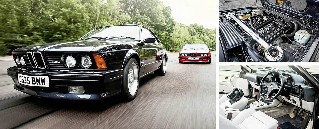 286bhp BMW E24 Giant Test M635CSi