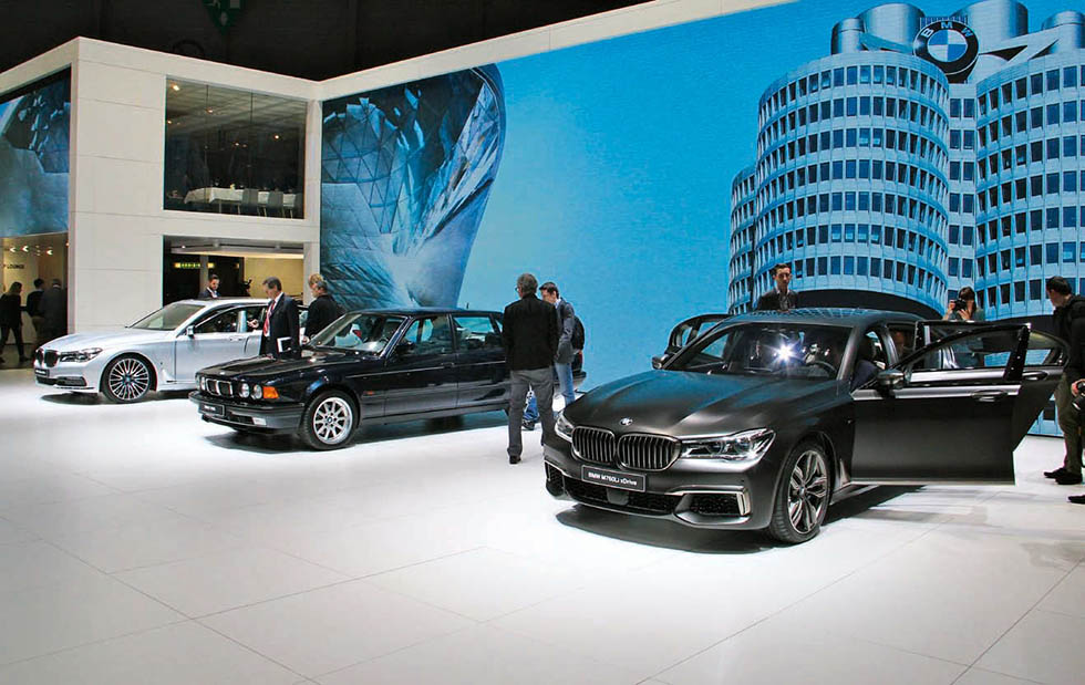 BMW-related goings-on from the 2016 Geneva Motor Show