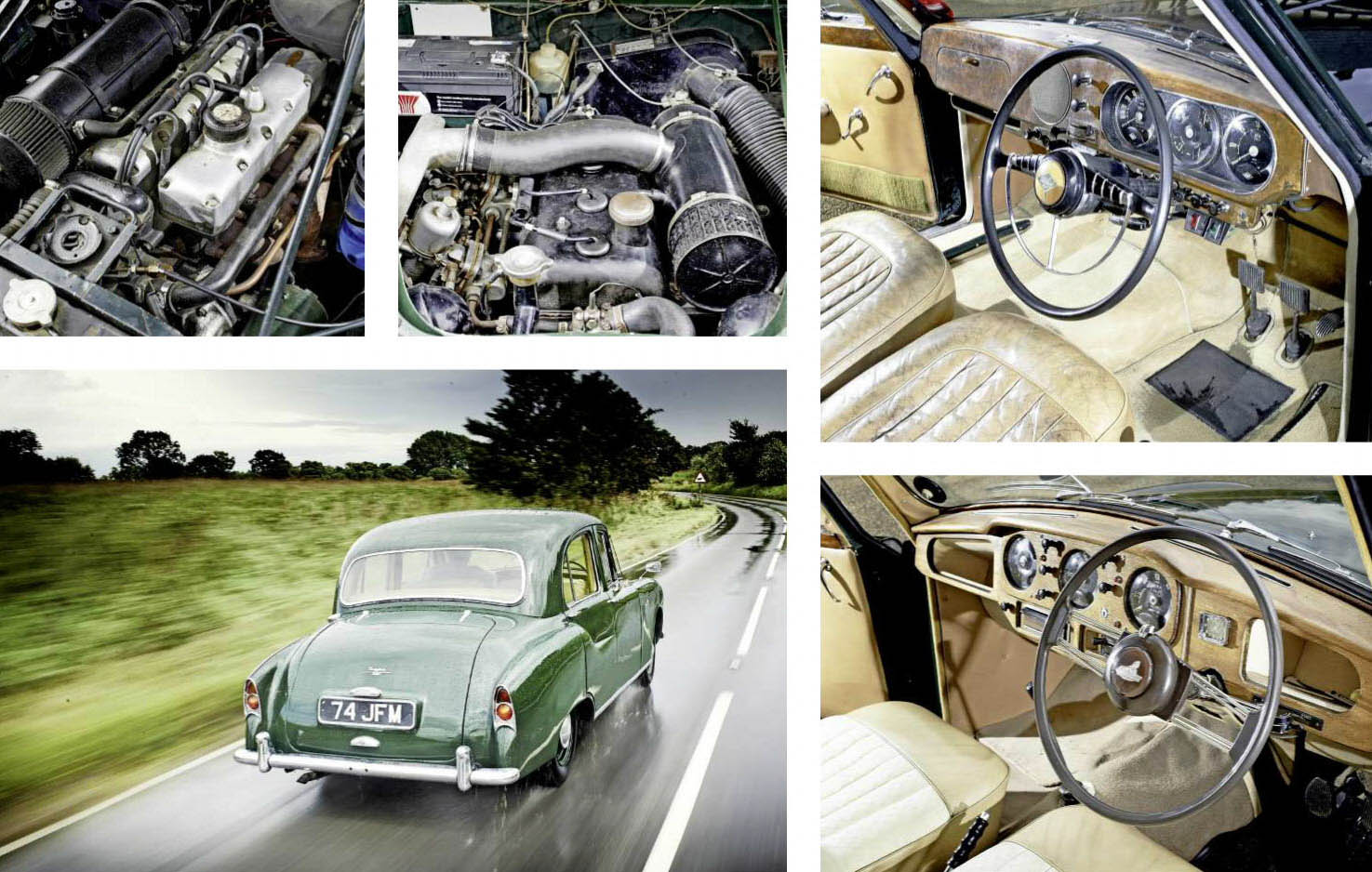 1956 Armstrong Siddeley Sapphire 234 vs. 1953 Riley Pathfinder road test