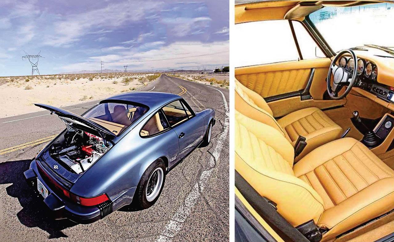 1976 Porsche 911 Elictric - 320bhp road test eco car