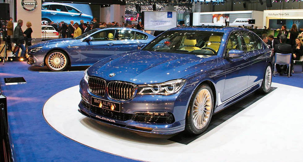 Alpina's B7 xDrive will be up against some strong opposition from BMW who chose Geneva as the show to launch its M760Li.
